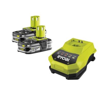 ONE+ / комплект 2-x Li-Ion аккумулятора+ЗУ Ryobi RBC 18 LL 15