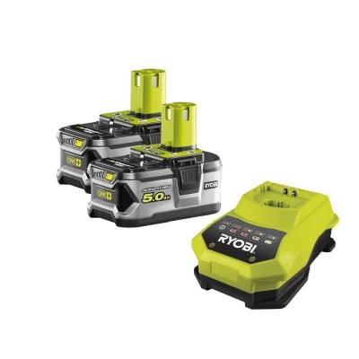 ONE+ / комплект 2x Li-Ion аккумулятора+ЗУ Ryobi RBC 18 LL 50
