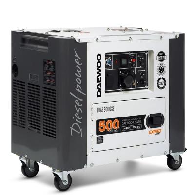 Дизельный генератор DAEWOO DDAE 8000SE